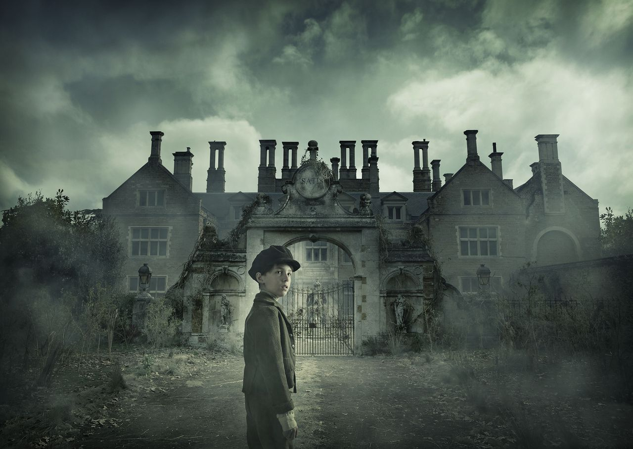 Programme Name: Great Expectations - TX: 27/12/2011 - Episode: GREAT EXPECTATIONS - EP 1 (No. Ep 1) - Embargoed for publication until: 01/11/2011 - Picture Shows: *Christmas Highlights 2011*, iconic, Young Pip (Oscar Kennedy) - (C) BBC - Photographer: Todd Antony