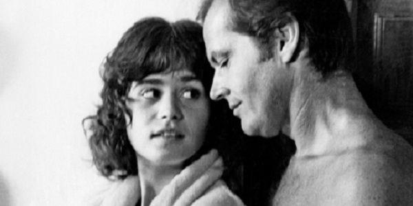 Maria Schneider met Jack Nicholson in The Passenger (1975).
