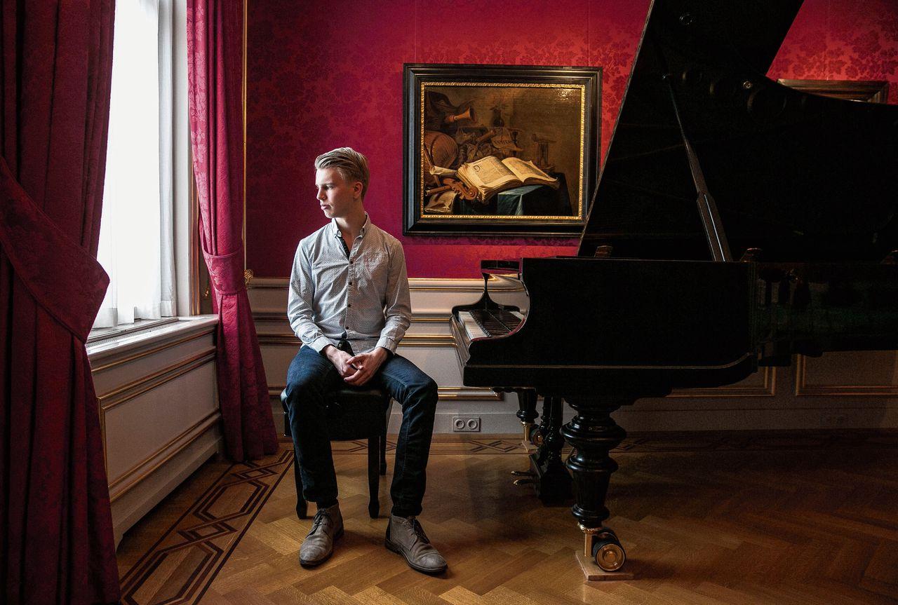 Pianist Ramon van Engelenhoven.