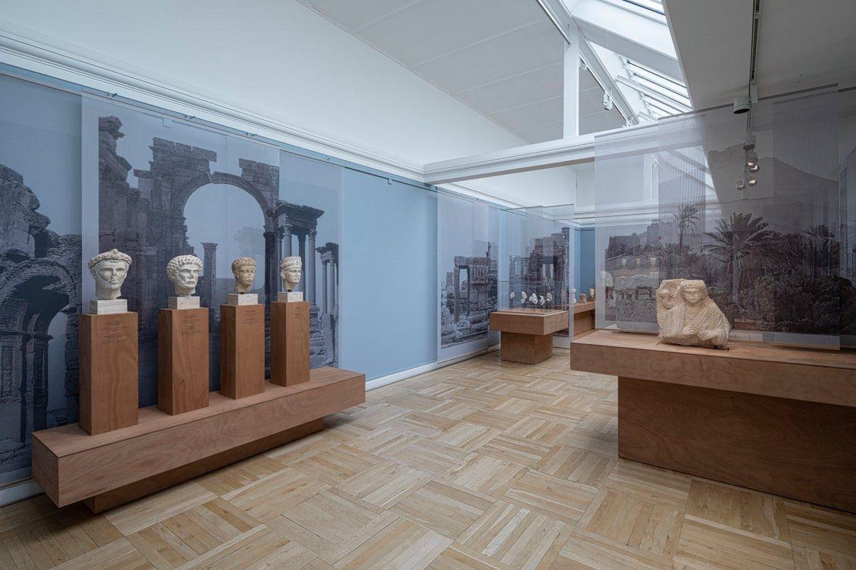 De tentoonstelling inmuseum Ny Carlsberg Glyptotek in Kopenhagen. Foto Anders Sune Berg