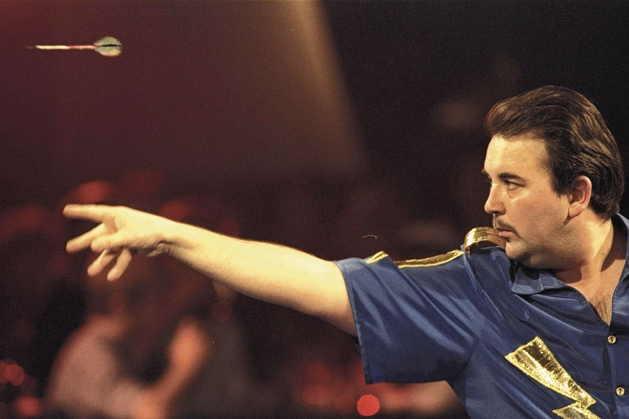 Phil Taylor in 1996.