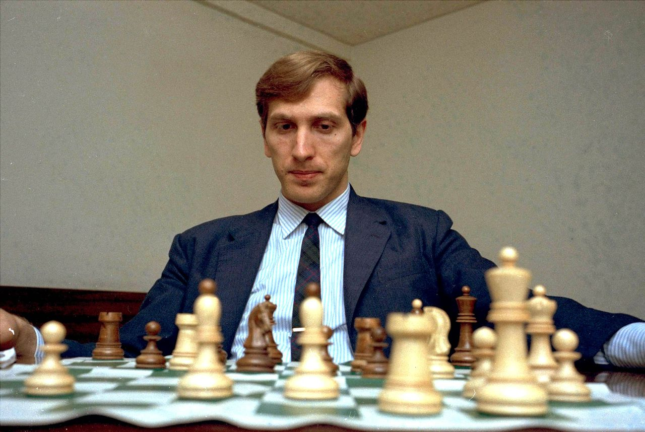 **FOR USE AS DESIRED WITH YEAR END - FILE** In this Aug. 10, 1971 file photo, former world chess champion, America's Bobby Fischer is pictured at an unknown location in the USA. Fischer, the reclusive chess genius who became a Cold War hero by dethroning the Soviet world champion in 1972 and later renounced his American citizenship, died Thursday Jan. 17, 2008. He was 64. (AP Photo)