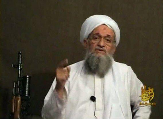 Ayman al-Zawahri, de opvolger van Osama bin Laden.