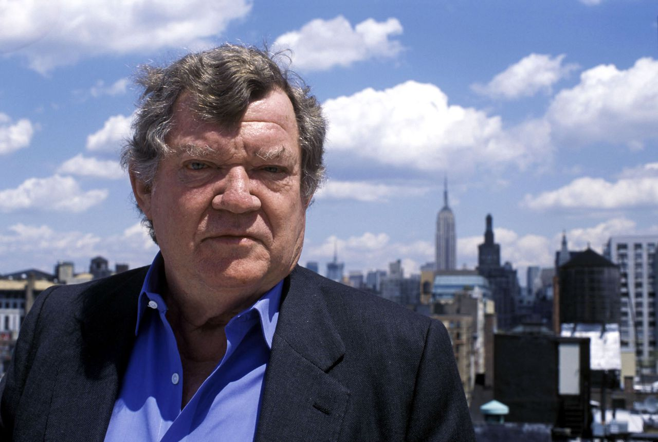 Picture shows: Robert Hughes in New York, USA. ©Jeremy Pollard In the aftermath of Robert Hughes' series 'The Shock of the New', in the early Eighties, the contemporary art market exploded in an orgy of hype, fame, controversy and big money. Hughes returns to the modern art world to see what it has to offer us in the 21st century. WARNING: Use of this copyright image is subject to Terms of Use of BBC Digital Picture Service. In particular, this image may only be used during the publicity period for the purpose of publicising 'THE NEW SHOCK OF THE NEW' and provided Jeremy Pollard is credited. Any use of this image on the internet or for any other purpose whatsoever, including advertising or other commercial uses, requires the prior written approval of Jeremy Pollard or Oxford Film/TV.