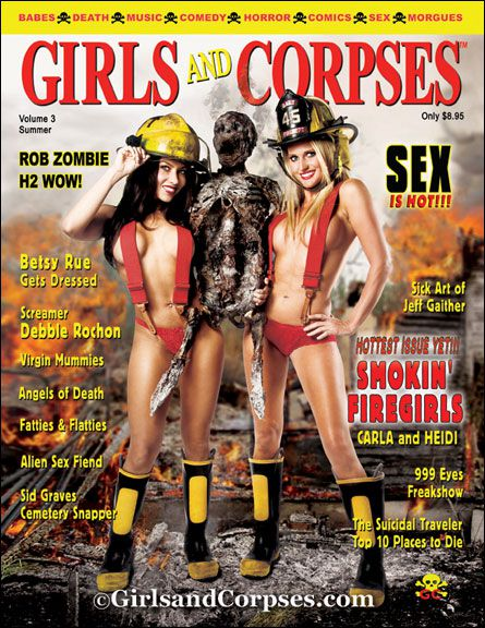 Cover van Girls and Corpses