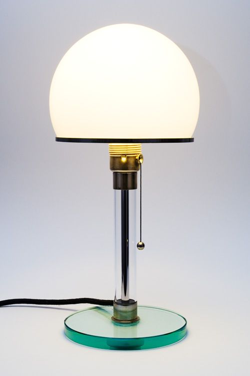 Wagenfeld lamp Foto Michael Höfner