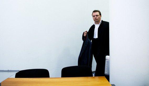 Advocaat André Seebregts, hier als advocaat van Sabir K.