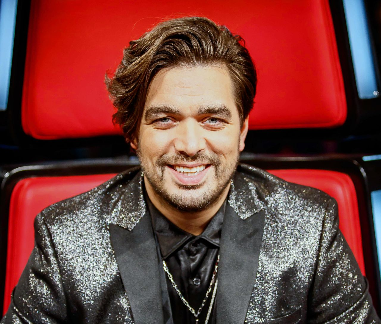 Waylon als jurylid tijdens The Voice of Holland.