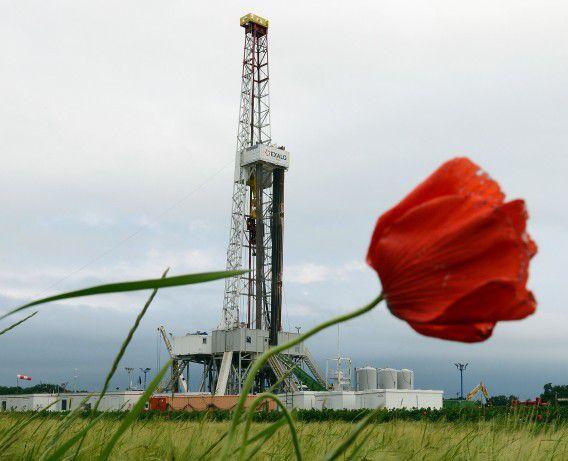 Schaliegaswinning in Ksiezomierz in het zuidoosten van Polen.