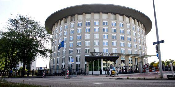 Het hoofdkantoor van OPCW.