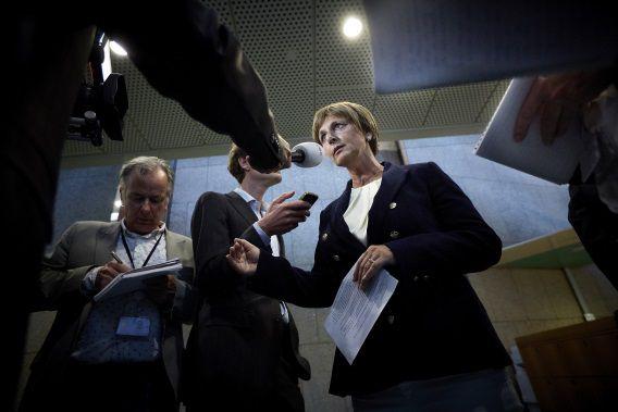 Martine Baay-Timmerman heeft een verklaring afgegeven aan de pers. Martine Baay is het nieuwe gezicht van 50Plus in de Tweede Kamer.