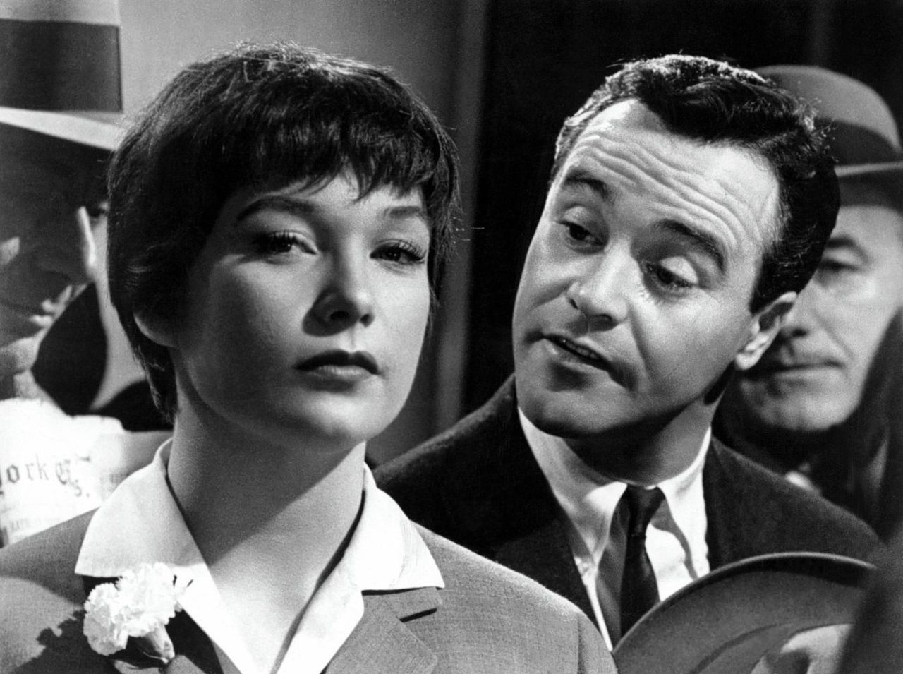 Shirley MacLaine en Jack Lemmon in Billy Wilders 'The Apartment' (1960).