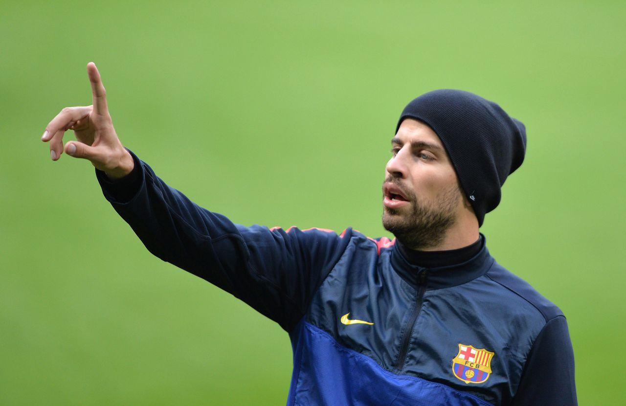 Niet één, Gerard Pique van Barcelona, maar acht getallen die iets te maken hebben met de halve finales van de Champions League.