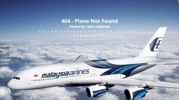 Website Malaysia Airlines gehackt