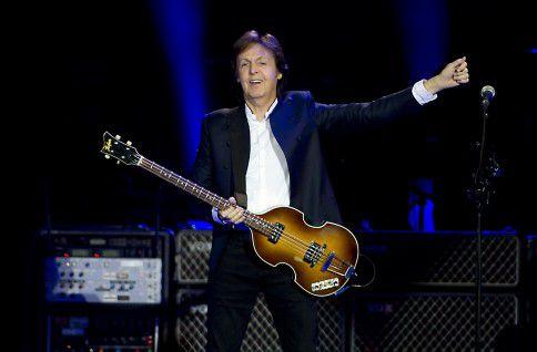 De Britse zanger Paul McCartney treedt op in concerthal Ziggo Dome met zijn 'Out There Tour'.