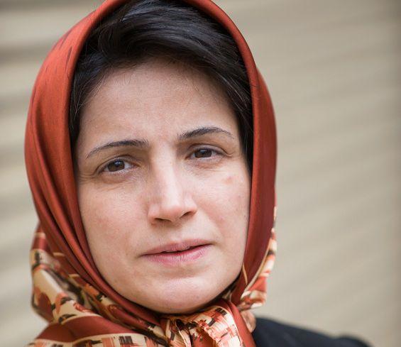 Foto van Nasrin Sotoudeh uit 2008.