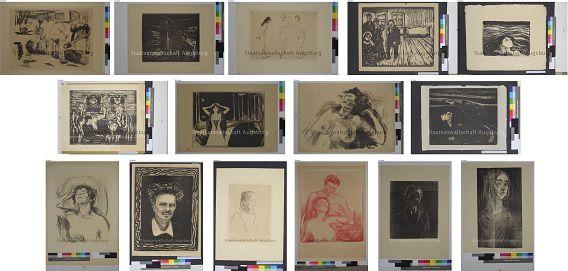 Enkele foto's van de schilderijen van Gurlitt zijn vrijgegeven door de openbaar aanklager. Meer: www.lostart.de