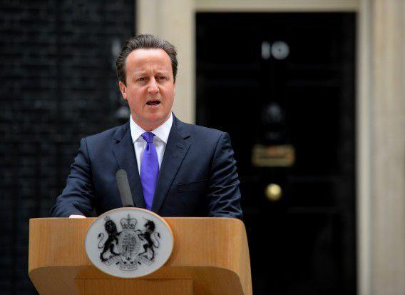 Britse premier David Cameron veroordeelde de moordaanslag scherp tijdens een persconferentie.