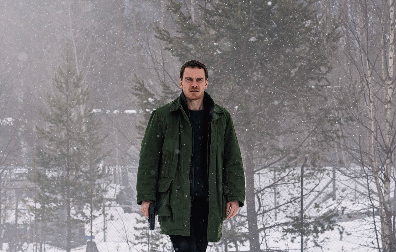 Michael Fassbender als Harry Hole in 'The Snowman'