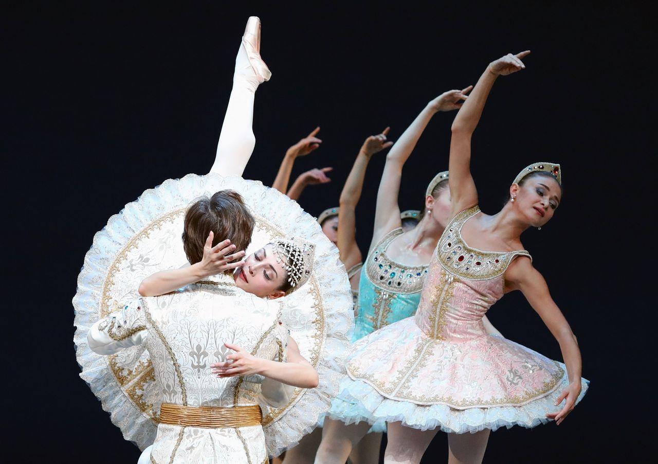 Ballet Imperial van choreograaf George Balanchine
