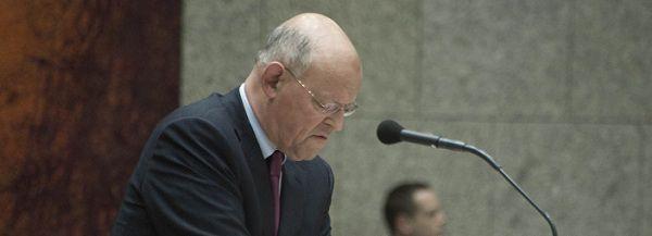 Minister Rosenthal van Buitenlandse Zaken. Foto NRC / Roel Rozenburg