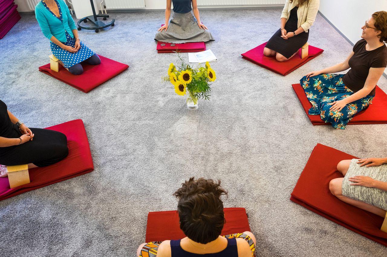 Sfeerbeeld van het Radboud Universitair Centrum voor Mindfulness