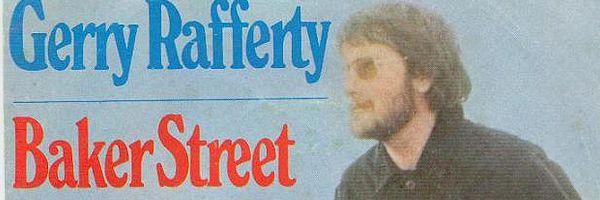 De hoes van de single 'Baker Street' van Gerry Rafferty