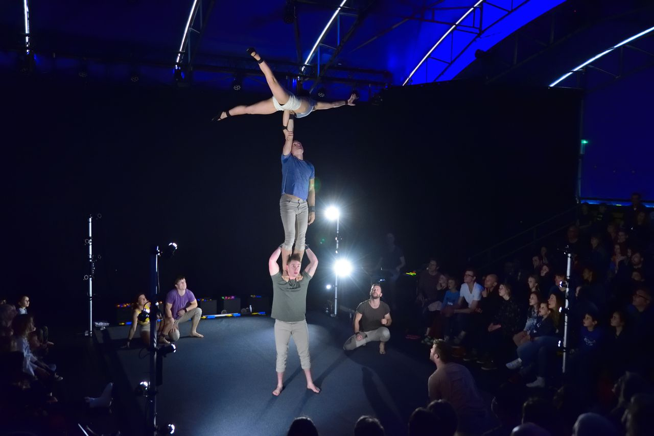 Gravity & Other Myths, tijdens Festival Circustheater in Rotterdam.