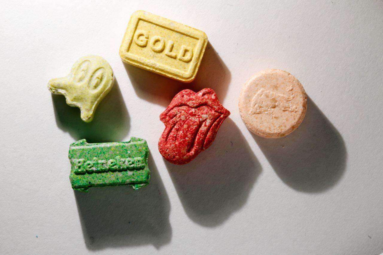 Xtc-pillen. D66 wil de volgende kabinetsperiode een onderzoek naar legalisering van harddrugs.