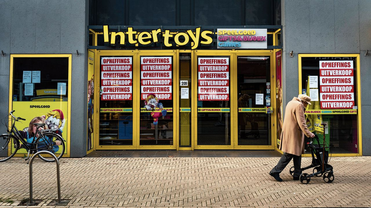 Vestiging van Intertoys in Sassenheim