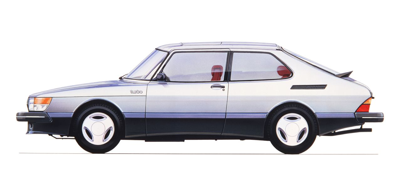 Saab 900 Turbo 16S, 1984. Foto GM