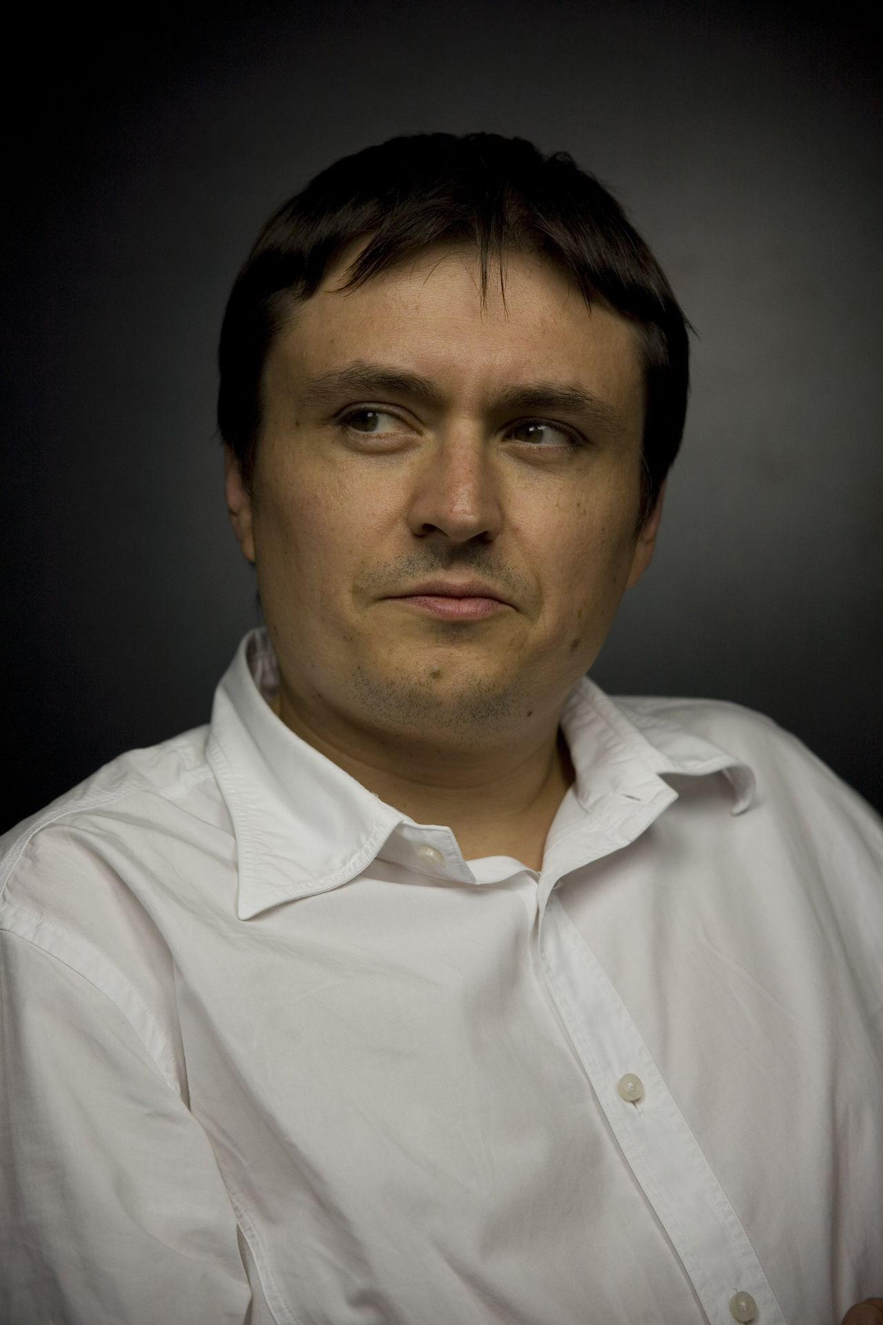 Romanian director Cristian Mungiu poses for portraits at the 66th edition of the Venice Film Festival in Venice, Italy, Friday, Sept. 11, 2009. (AP Photo/Arash Radpour)