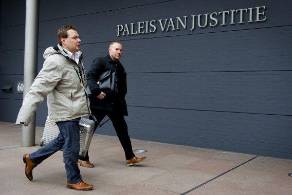 De advocaat van Sabir K., André Seebregts, in 2013 bij de rechtbank in Den Haag.