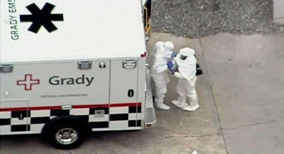 De arts kwam begin augustus in Atlanta aan om behandeld te worden tegen ebola.