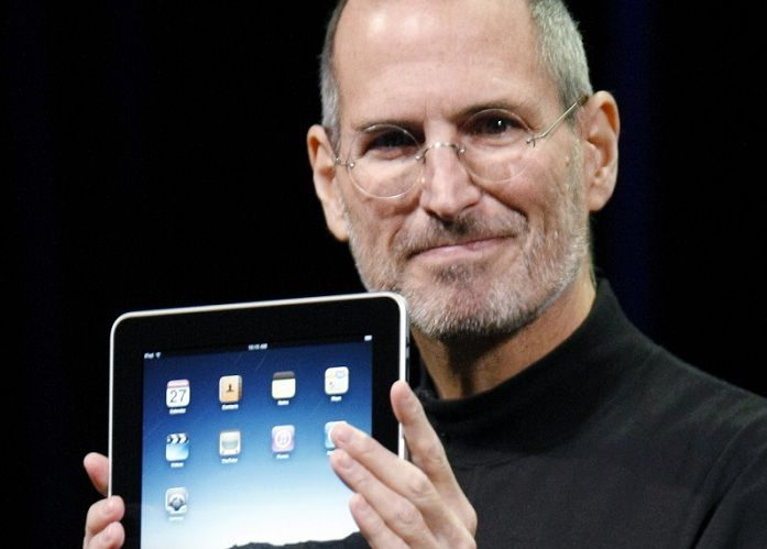 FILE - A Jan. 27, 2010 file photo shows Apple CEO Steve Jobs holding up the new iPad during a product announcement in San Francisco. Jobs sent a note Monday, Jan. 17, 2011 to employees saying he's taking a medical leave of absence so he can focus on his health. He says he will continue as CEO and be involved in major decisions but has asked Tim Cook to be responsible for all day-to-day operations. (AP Photo/Paul Sakuma, File)