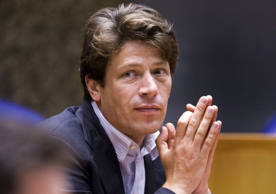 Paul Tang in 2008 toen hij voor de PvdA in de Tweede Kamer zat.