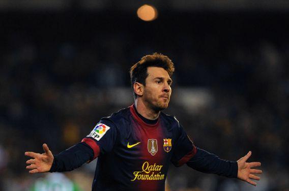 Messi heeft vandaag het record van Der Bomber Müller verbroken: hij maakte zijn 86e doelpunt van het jaar.