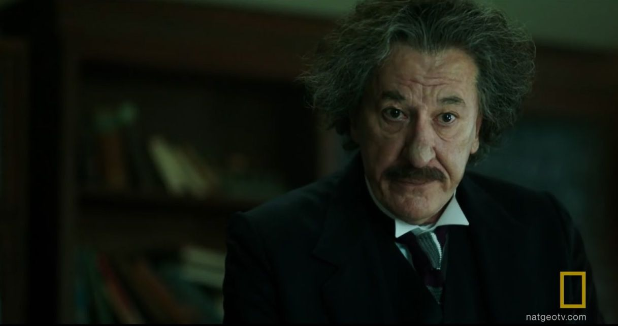 Geoffrey Rush als Albert Einstein in 'Genius' (National Geographic).