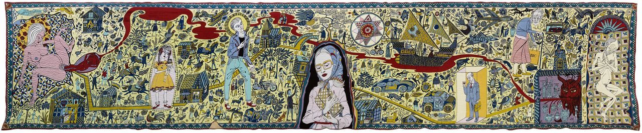 The Walthamstow Tapestry (2009) van Grayson Perry.