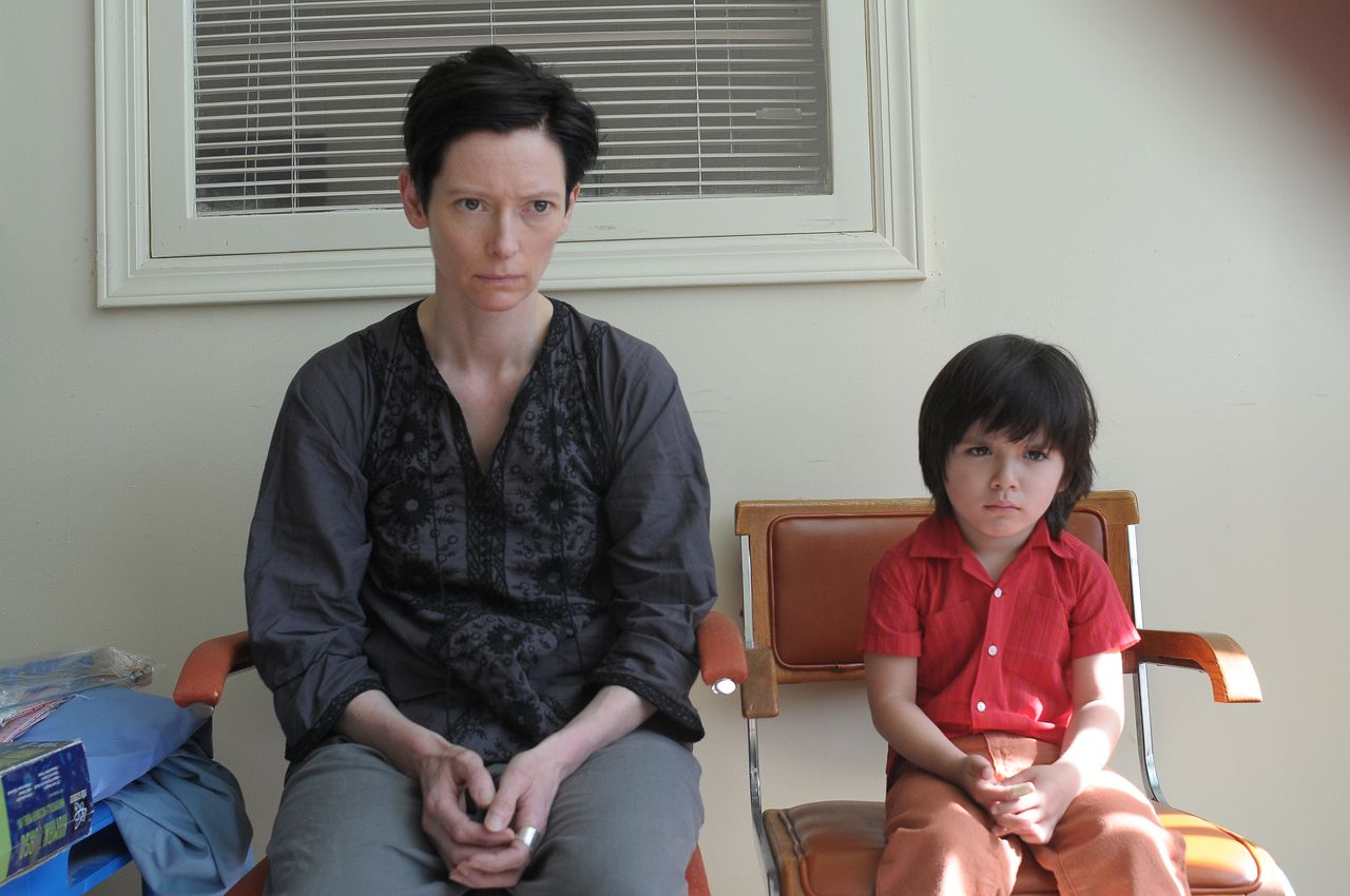 scene uit de film We Need to Talk About Kevin (2011) FOTO: Wild Bunch Tilda Swinton