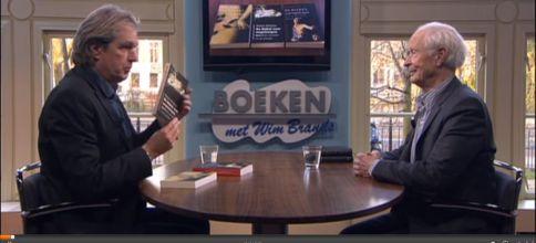Wim Brands (l.) met Guus Kuijer.