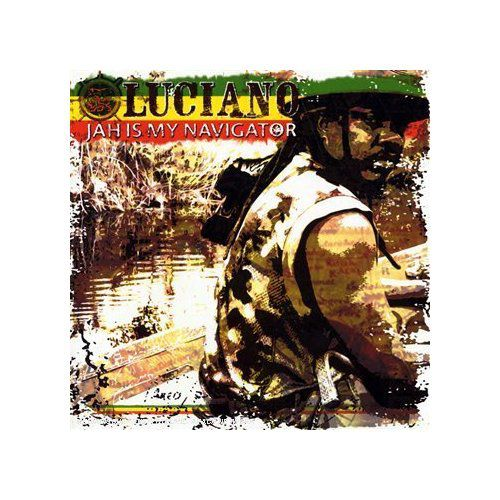 cd reggae Luciano: Jah Is My Navigator****