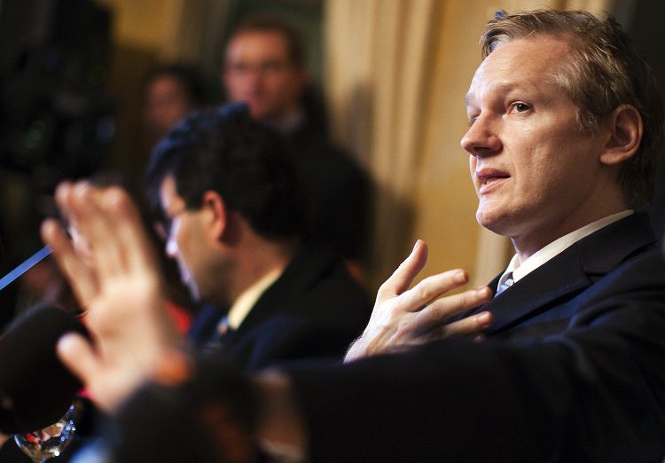 Julian Assange (REUTERS/Valentin Flauraud)