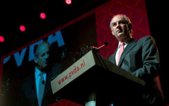 Job Cohen tijdens het partijcongres van de PvdA in de Brabanthallen, eind januari.
