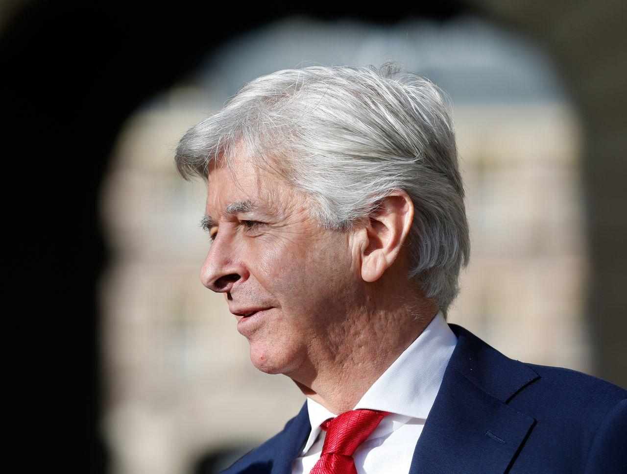 Minister Ronald Plasterk van Binnenlandse Zaken.