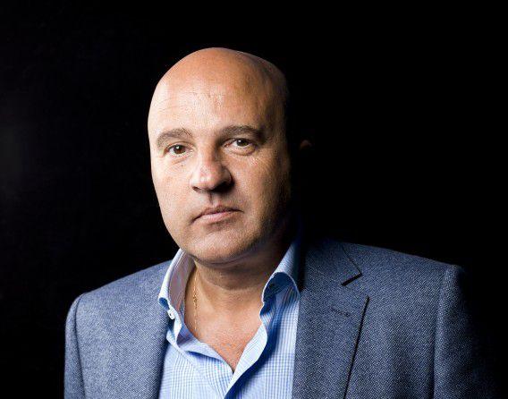 Misdaadjournalist en presentator John van den Heuvel.