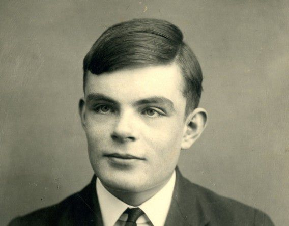 Alan Turing als 16-jarige
