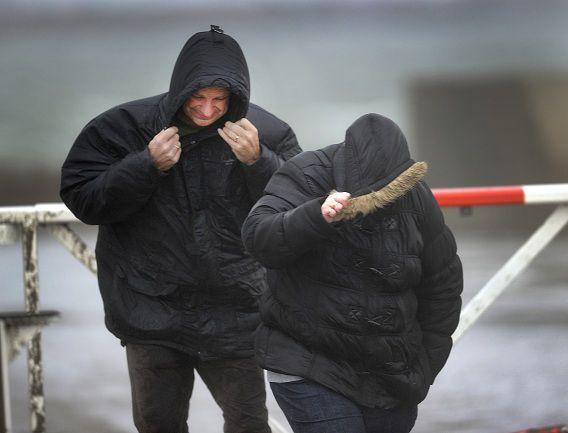 In delen van het land wordt vandaag noodweer verwacht.