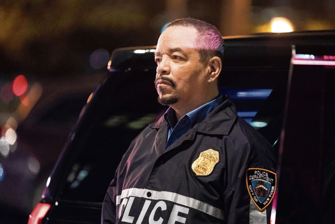 Tracy Lauren Marrow, beter bekend als Ice-T, in Law & Order: Special Victims Unit. Hij speelt hier agent Odafin 'Fin' Tutuola.