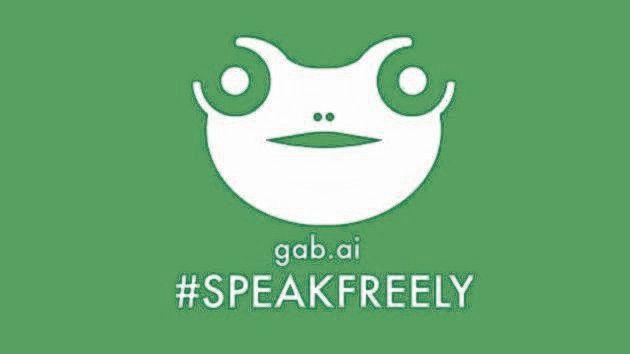 Het oude Gab-logo leek op de extreem-rechtse mascotte Pepe the Frog.